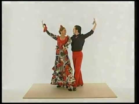 Castinettes Sevillanas Flamenco Las Castañuelas Y El Baile Por Sevillanas Baile Vídeos De Baile Sevillana