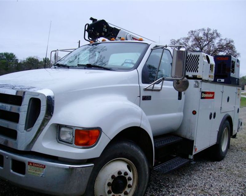 2006 ford f750 xl super duty mechanic truck from