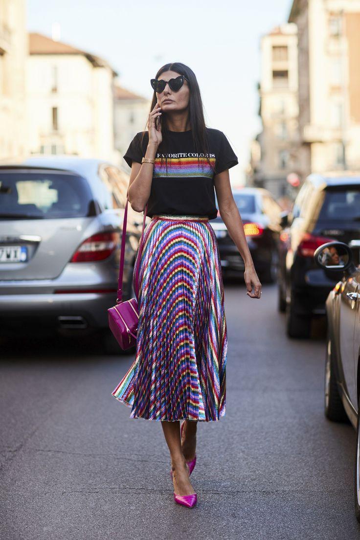 5 Prendas para lograr una cintura de avispa #TiZKKAmoda #skirt #falda #midi #lookdodia #lookbook