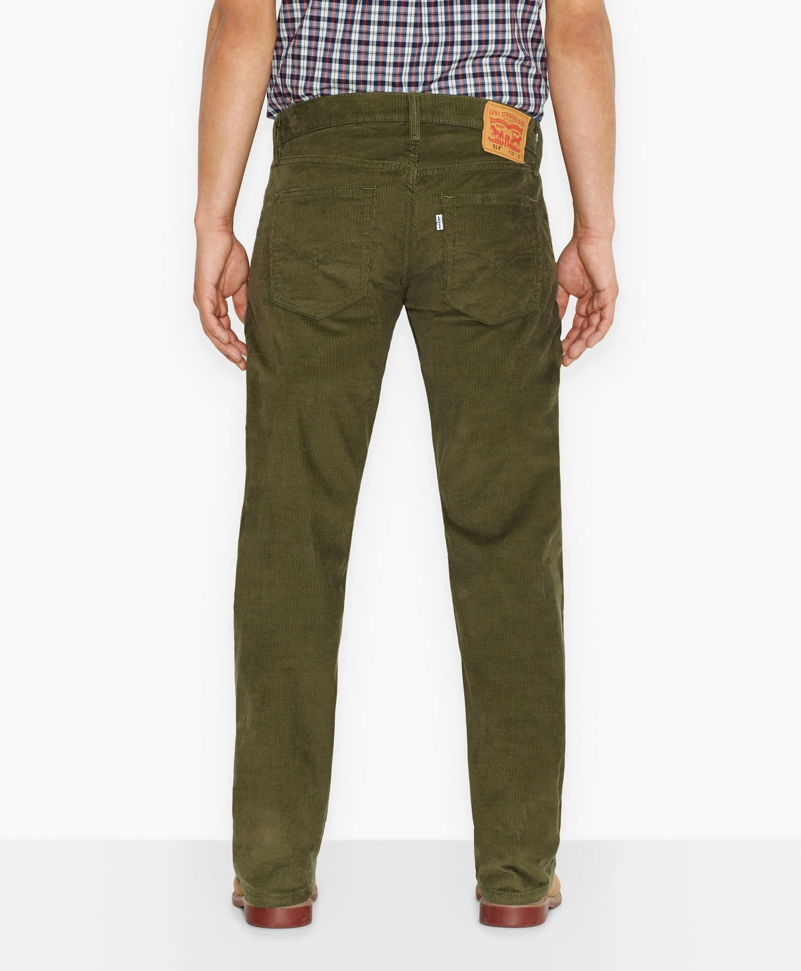 Levi's 514™ Straight Fit Corduroy Pants - Burnt Olive - Jeans | My ...