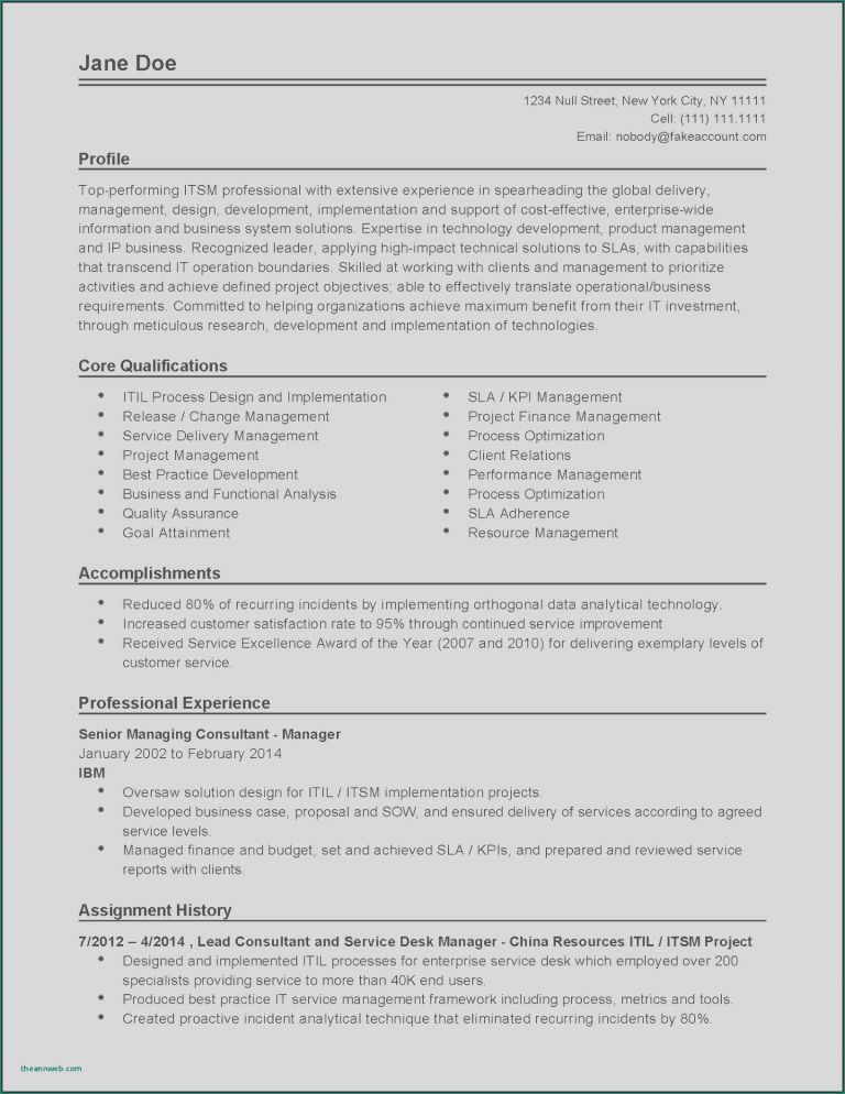 79 new photos of sample resume core qualifications