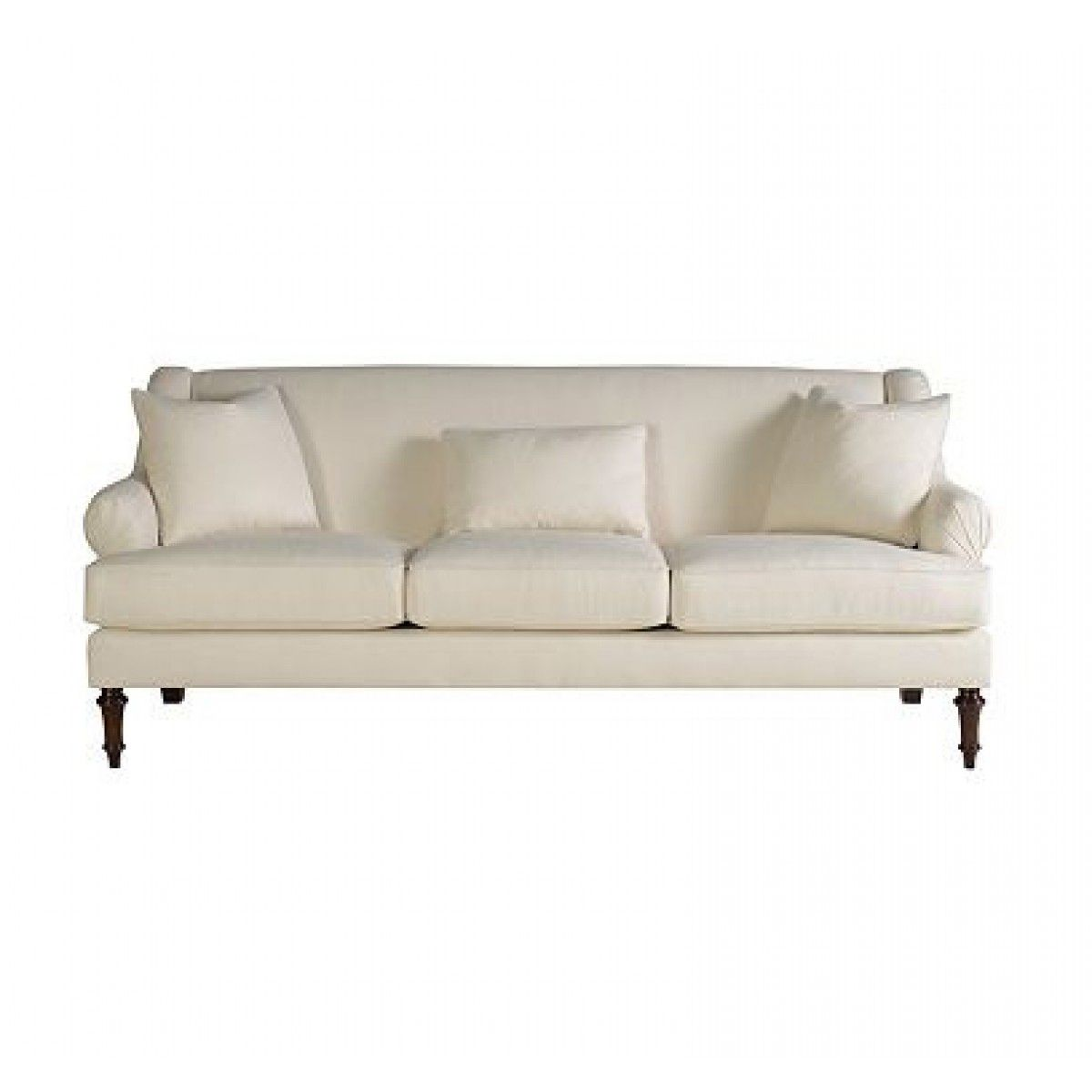 Henredon Upholstery Napoleon Tight Back Sofa