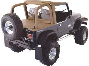 Rampage Products Cab Top With Tonneau Cover For 92 95 Jeep Wrangler Yj Jeep Wrangler Yj Jeep Tonneau Cover