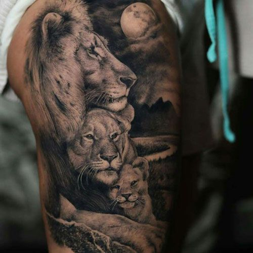 125 Best Lion Tattoos For Men: Cool Designs + Ideas (2020 Guide)