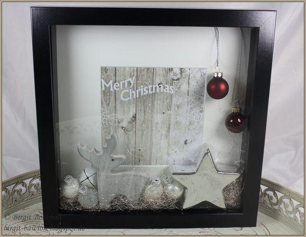 ribba rahmen die 2te birgit 39 s blog craft ideas pinterest weihnachten basteln und geschenke. Black Bedroom Furniture Sets. Home Design Ideas