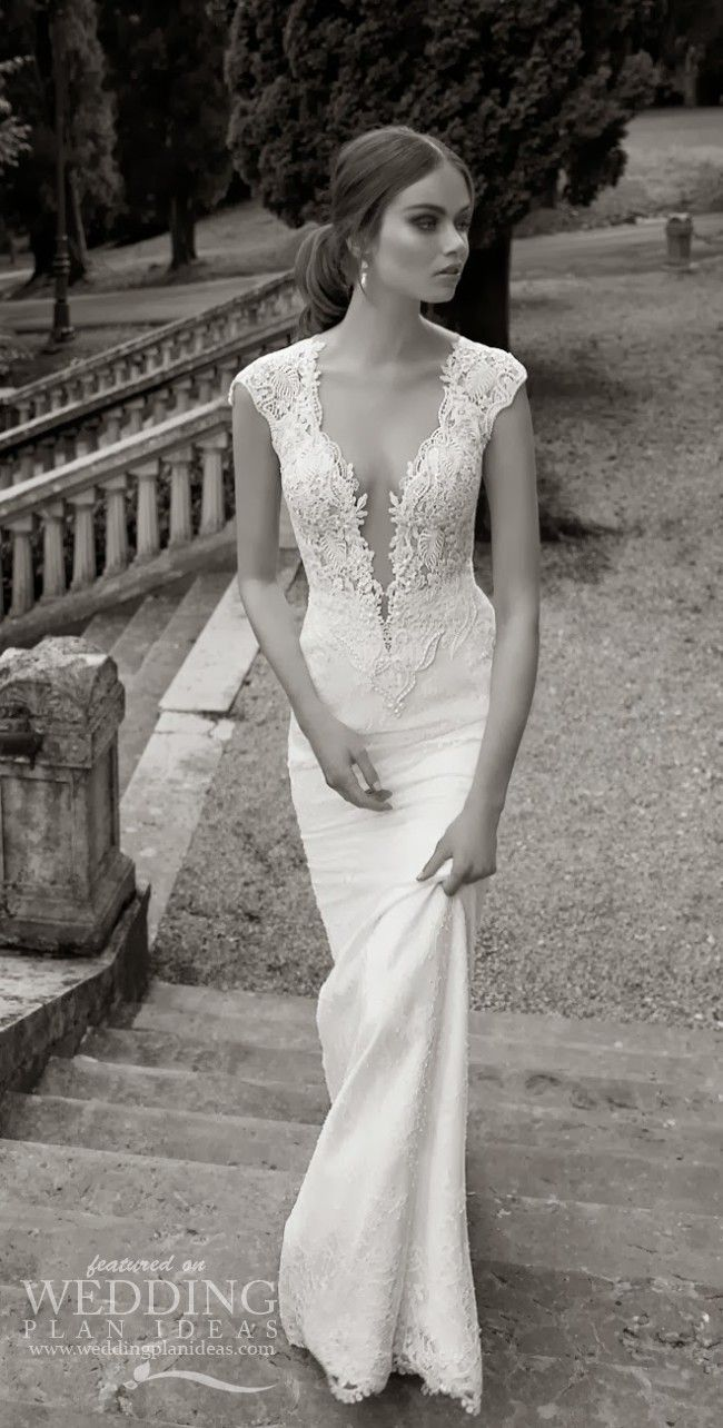 Beautiful Cap Sleeves Wedding Dress | Simple Wedding Dresses ...
