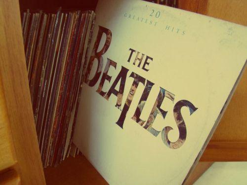 Vinilo: The Beatles.