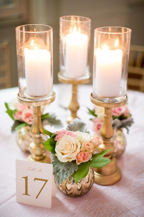 Trending 18 Outstanding Wedding Centerpieces With Candlesticks
