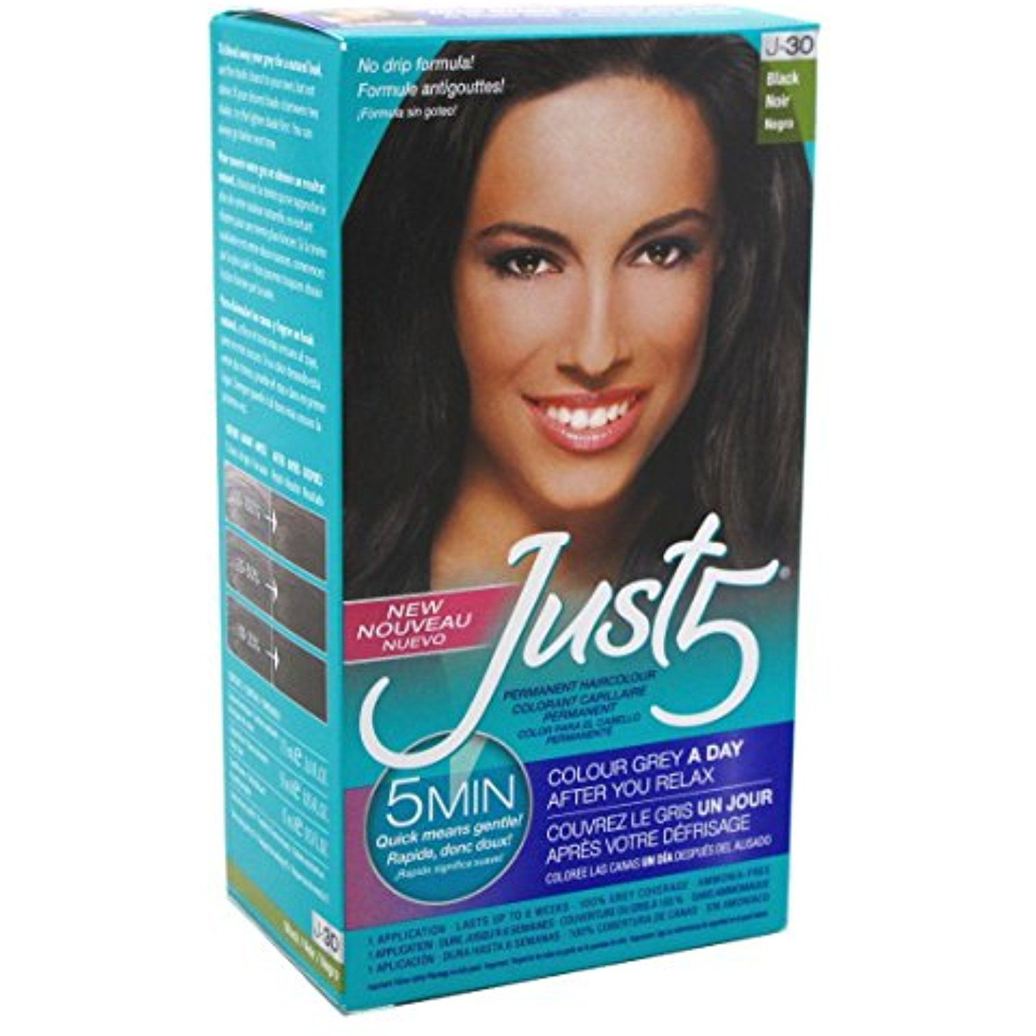 Just 5 Womens Hair Color Black J 30 3 Pack More Info Could