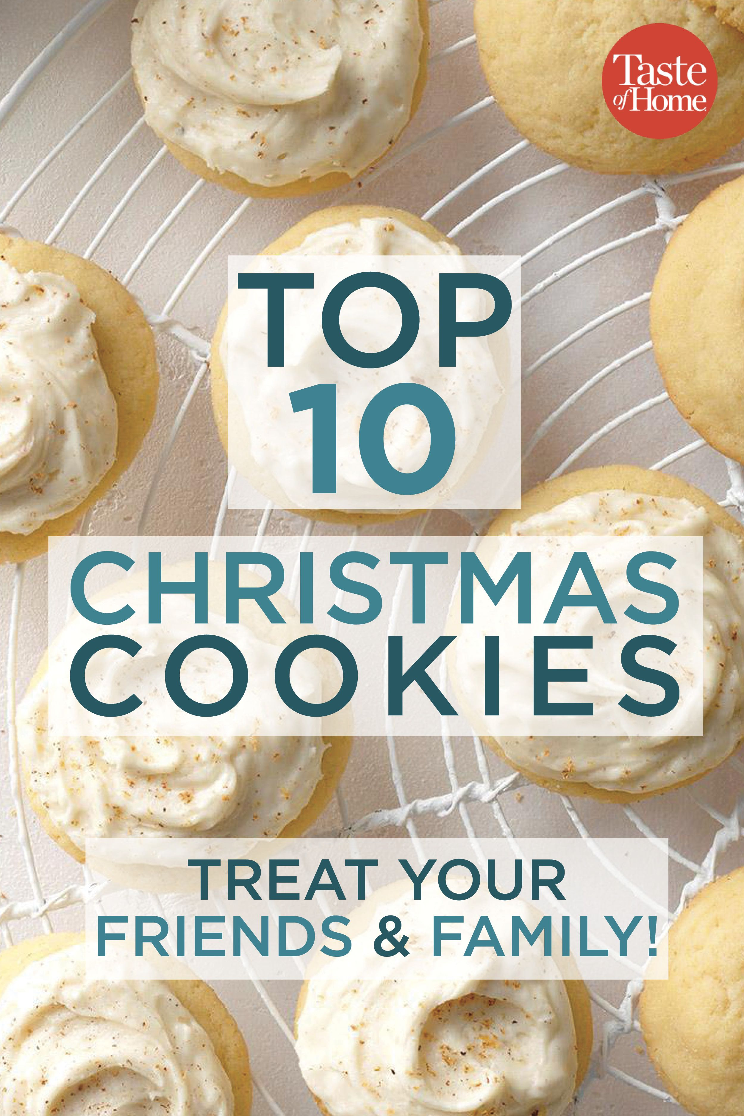 Our Top 10 Christmas Cookie Recipes Christmas Cookies Cookie