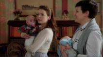4x07 Aurore Mary Margaret Blanchard Phillip Jr Neal Nolan réunion jeunes mamans…