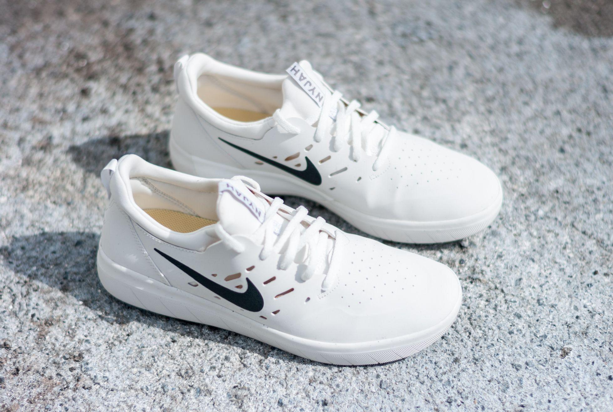 Nike SB Nyjah Free White Shoe  6bf589639