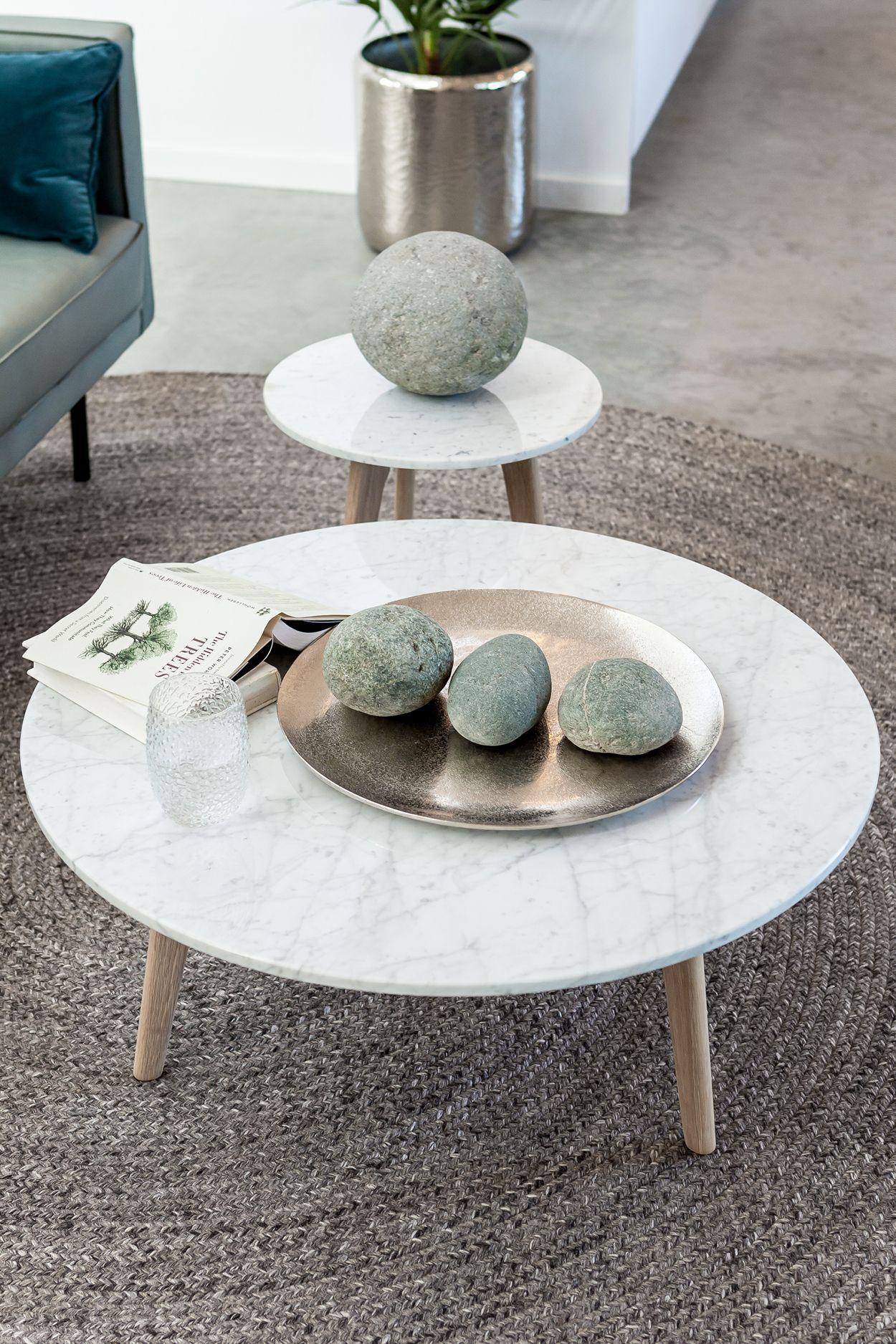 19+ White round mid century coffee table ideas