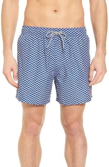 2896dd9ac2 Ted Baker Caven Geo Print Swim Trunks | Products | Swim trunks ...