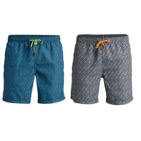 Bjorn Borg Korte Broek Heren.Deze Bjorn Borg Loose Shorts Zwembroek Met Code Print Voor Heren Is
