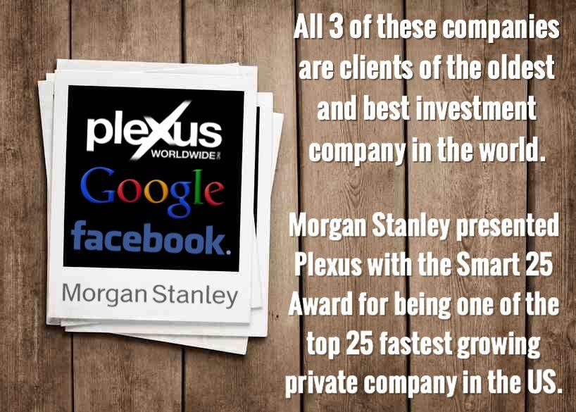 Plexus is a hand picked client of Morgan Stanley | My Plexus Slim