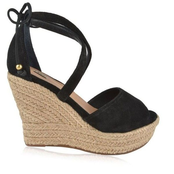 8effb696a6c Ugg Reagan Wedge Espadrilles ($83) ❤ liked on Polyvore featuring ...