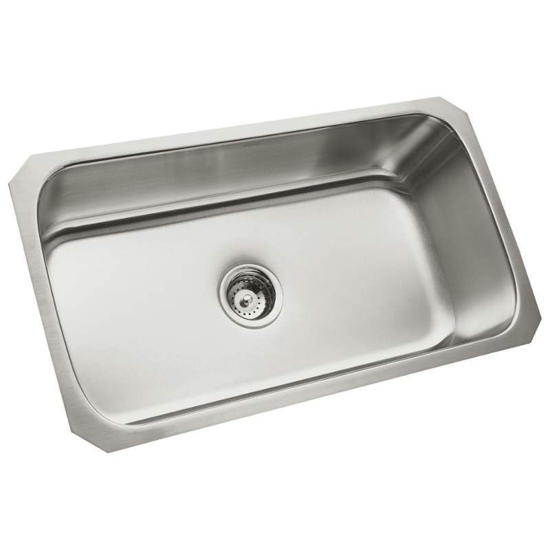Sterling 11600 Steel Kitchen Sink Stainless Steel Sinks Single