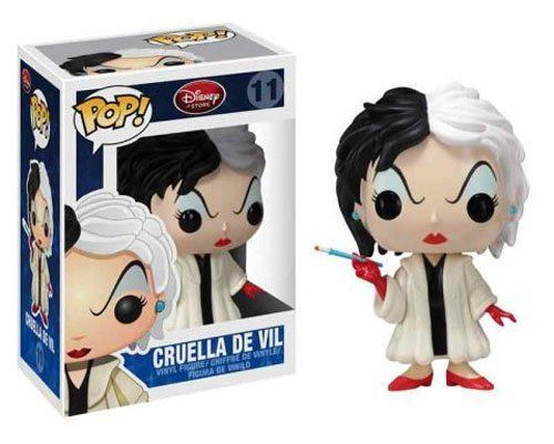 Disney Pop 101 Dalmations Cruella De Vil 11 Vinyl Figure By Funko Cruella D Enfer Pop Disney Figurine Vinyl