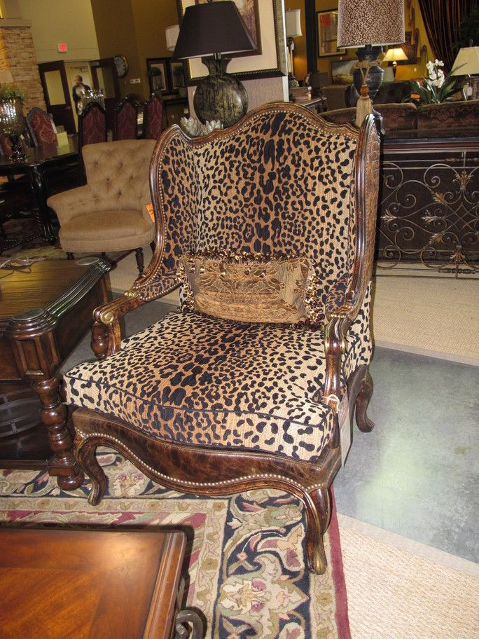 Animal Print Chairs Images | Projects Plenty: Kitchen Island Stools (u0026 New  Leopard Print Chair?)