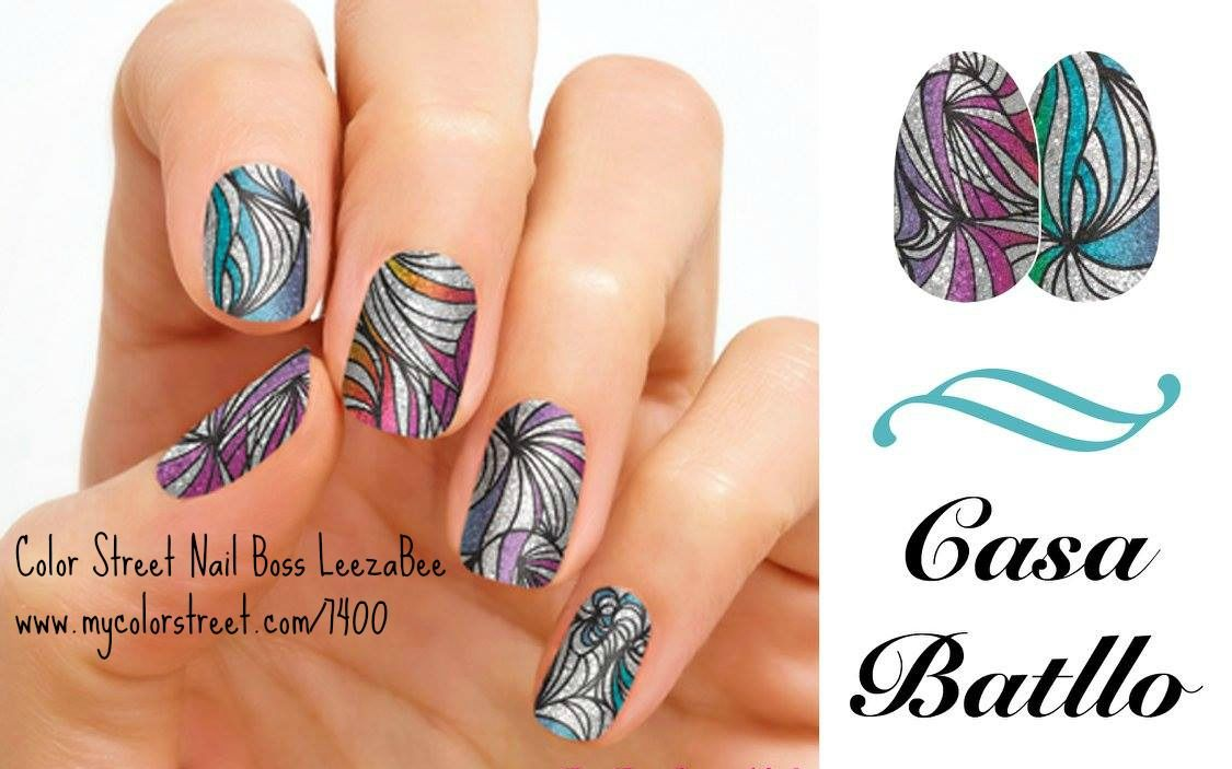 Color Street 100% Real Nail Polish Strips, easy application, no dry ...