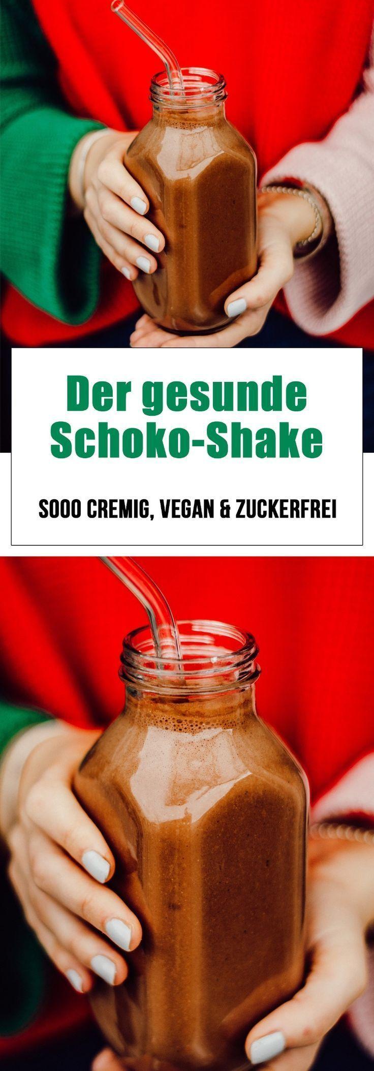 #bei #Der #Gesunde #Schokogelüsten #SchokoShake -   Gesunder Schoko-Shake. Super cremig, zuckerfrei und vegan! #healthychocolateshakes