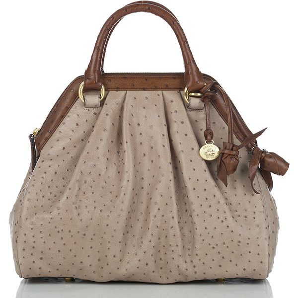 Brahmin Sara Rose Satchel found on Polyvore