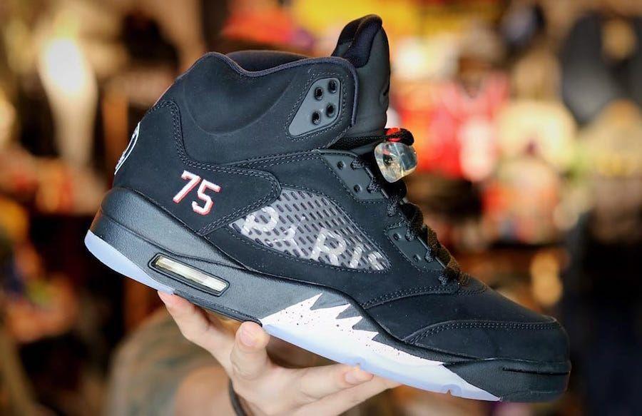 """3c29aa9eb12 The Air Jordan 5 """"Paris Saint-Germain"""" Will Cost  225"""
