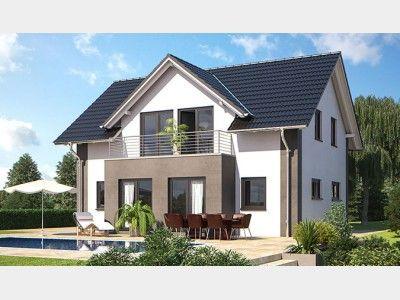 Hausansicht living 153 homesweethome haus einfamilienhaus und hanlo haus - Erker streichen ...
