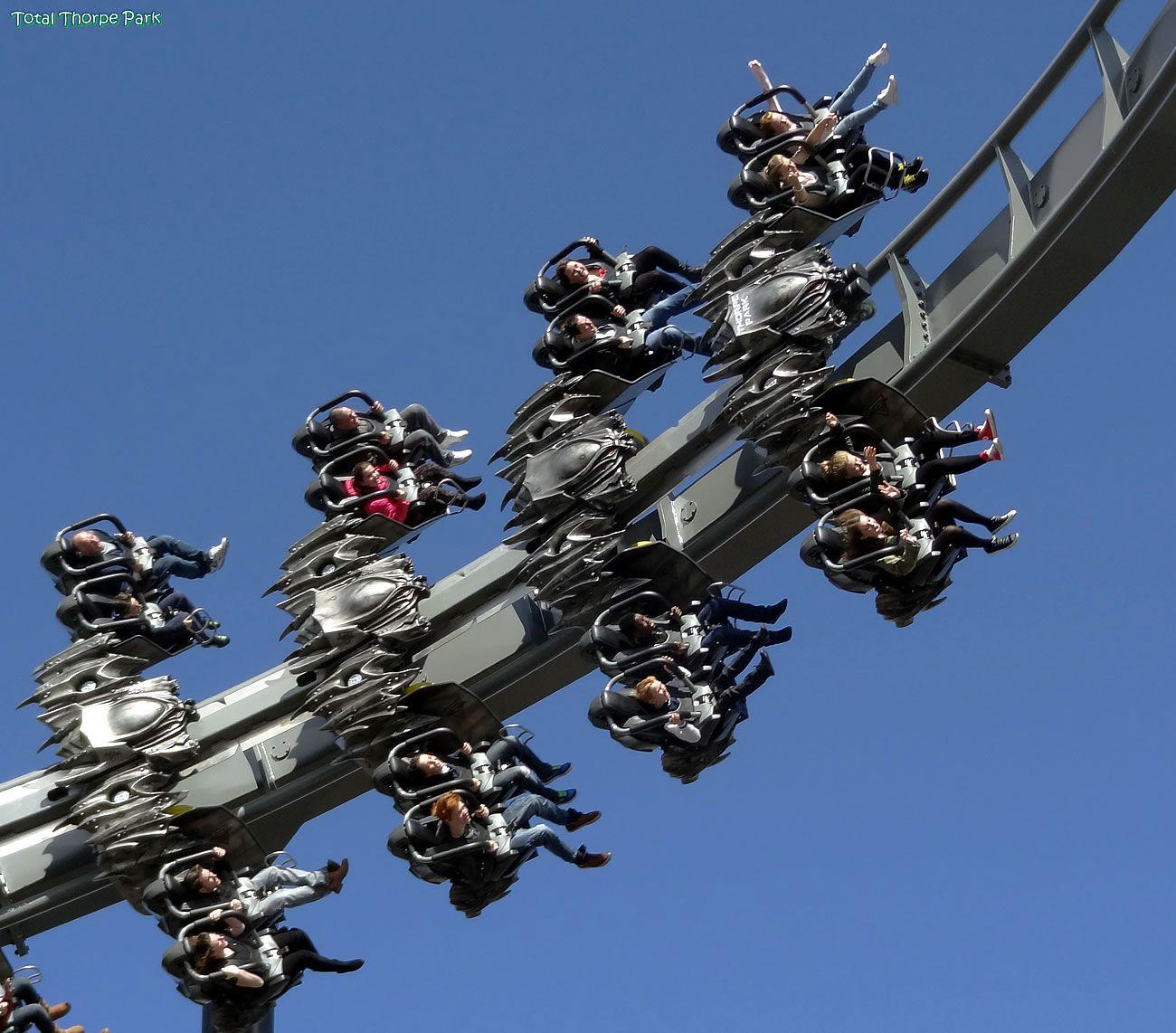 THORPE PARK: Brave the Swarm ride at Thorpe Park. http://www.thorpepark.com/rides/the-swarm.aspx