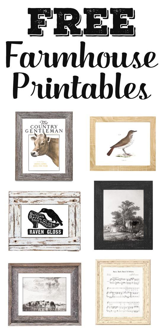 Free Printable Farmhouse Signs : printable, farmhouse, signs, Farmhouse, Printables, Library, Hello, Printables,, Free,, Artwork