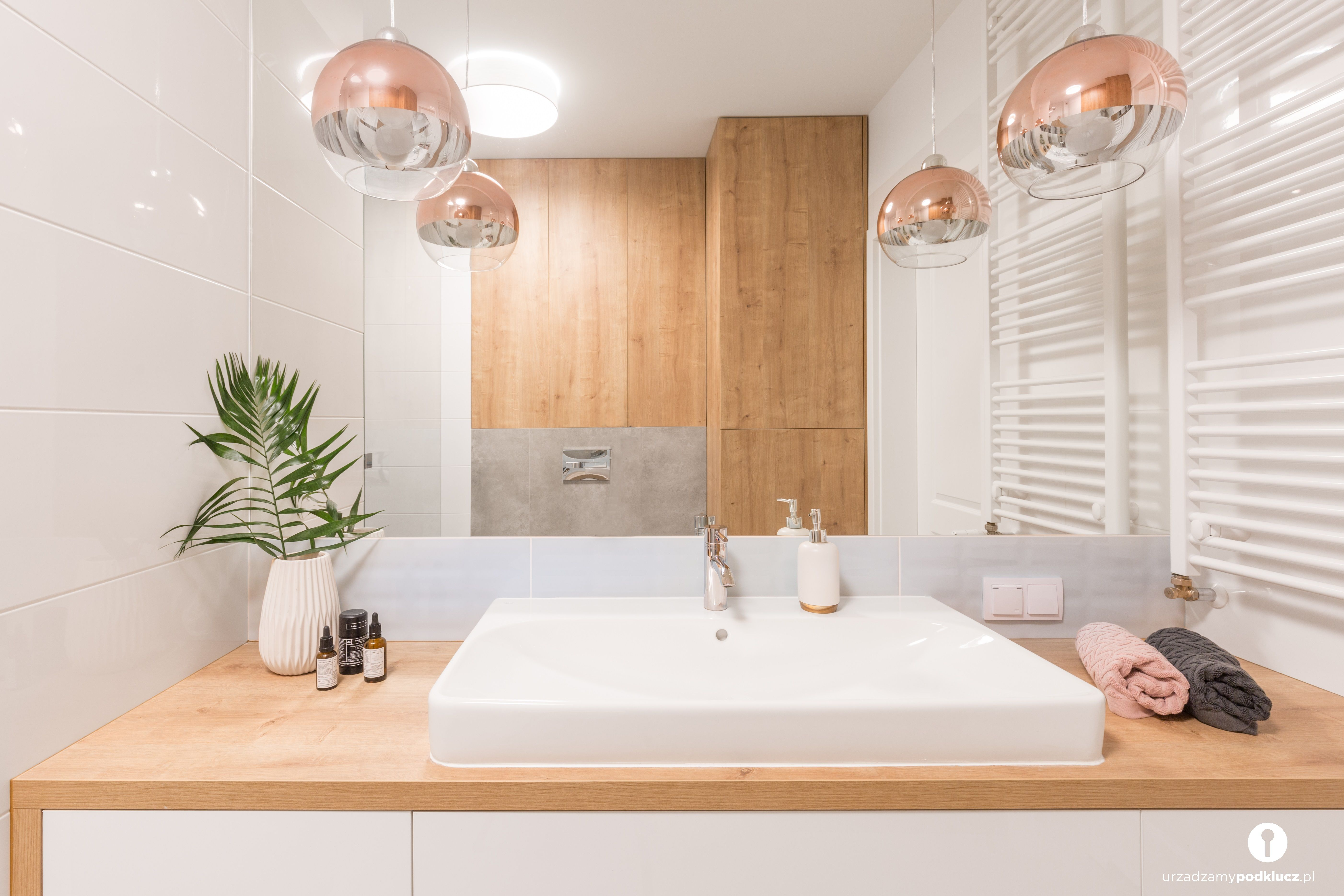 Drewniana Zabudowa łazienki Nie Tylko Ociepla Wnętrze Ale