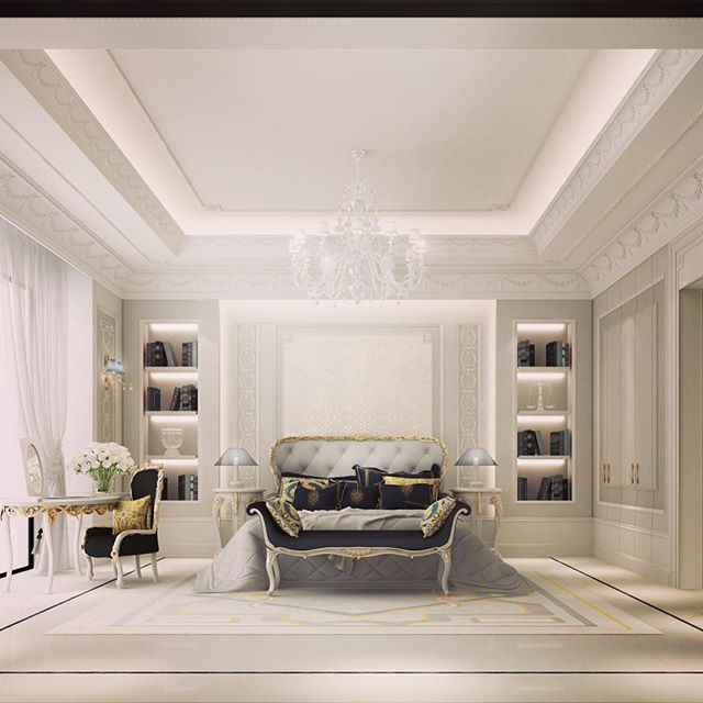 Luxury Mansion Master Bedroom Interior Design: ⛲منازل عصريه ادوات