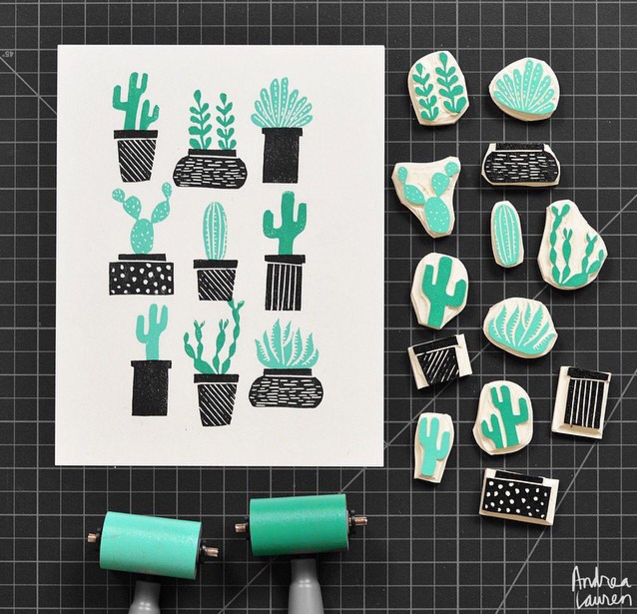 rubberstamp via instagram inkprintrepeat rubber stamps ideas pinterest drucken. Black Bedroom Furniture Sets. Home Design Ideas