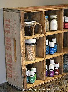 Ideas de almacenamiento reutilizados cocina vintage, diseño de la cocina, la organización, las ideas de almacenamiento