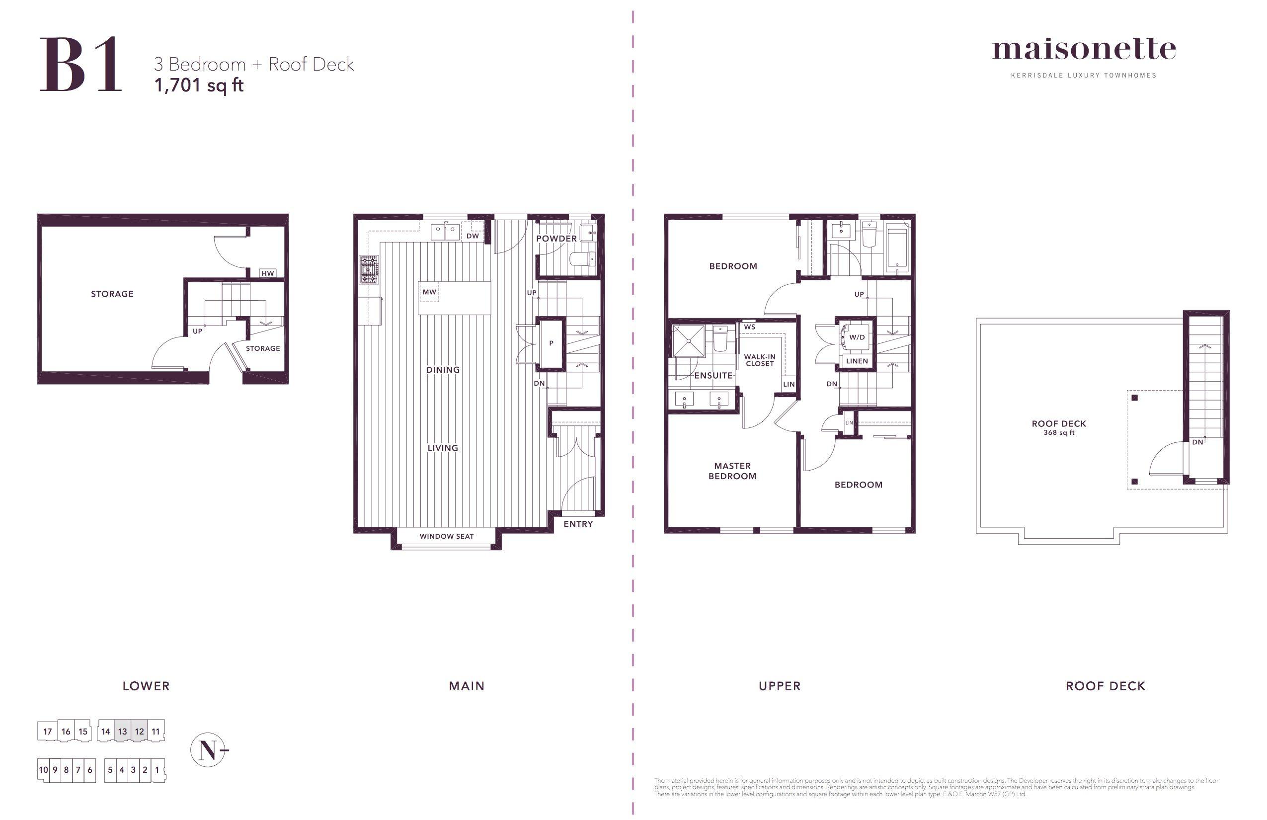 Floorplan B1 For Maisonette Luxury Townhouse Town House Plans Luxury House Plans