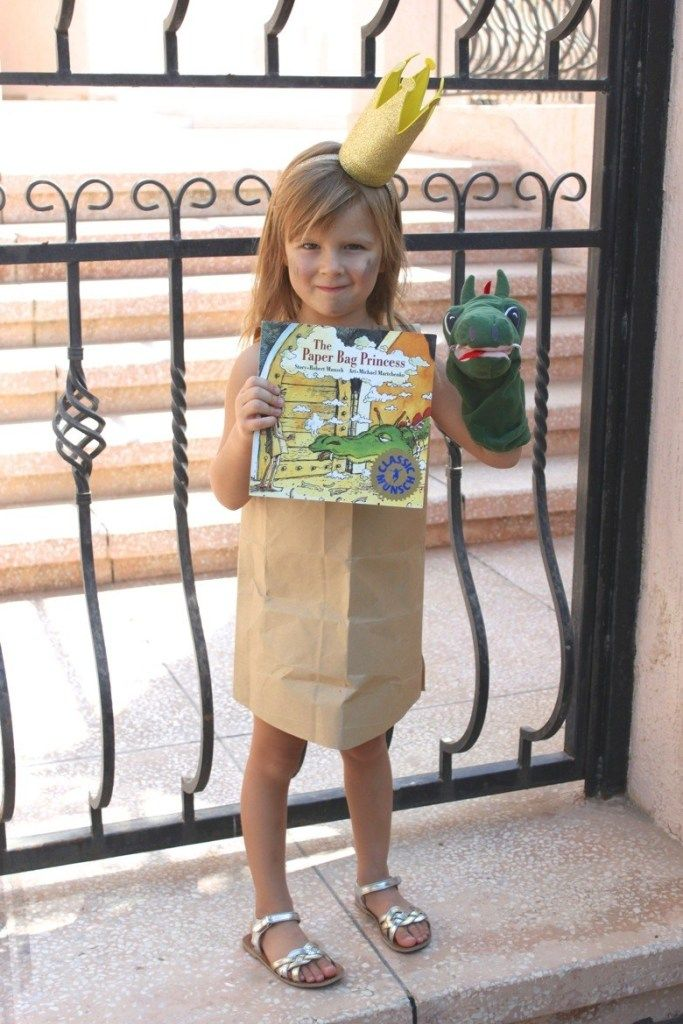 World Book Day Costume Ideas - In The Playroom #paperbagprincesscostume