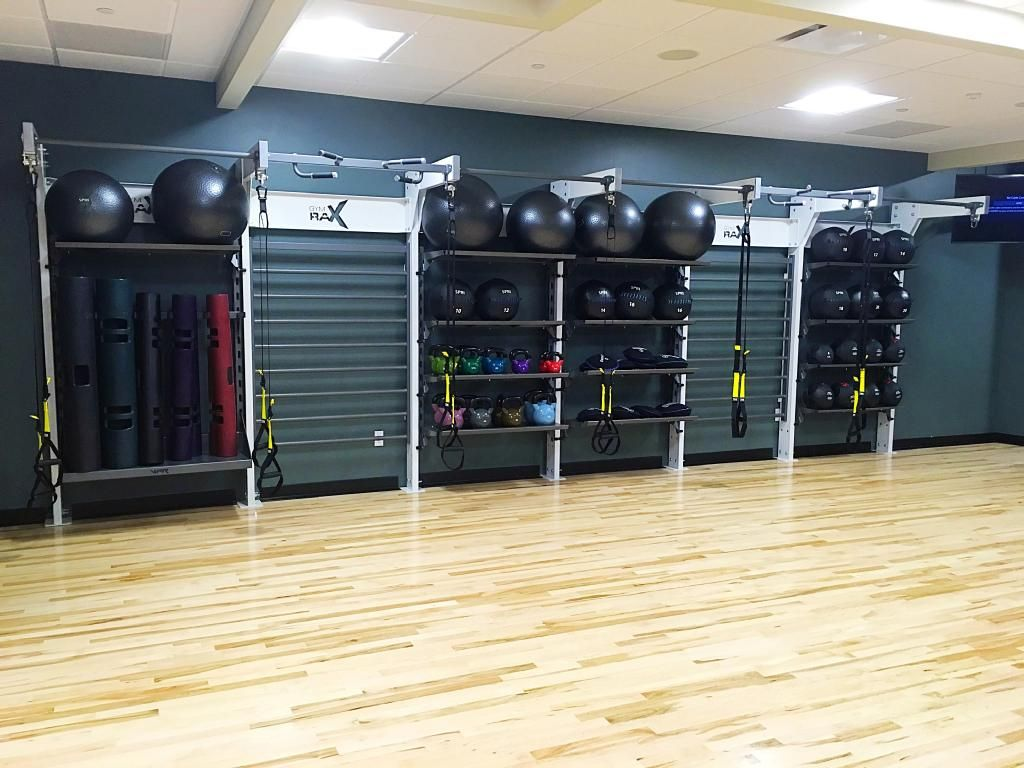 Gym Rax Storage and Suspension structure at Colorado Athletic Club - Union  Station