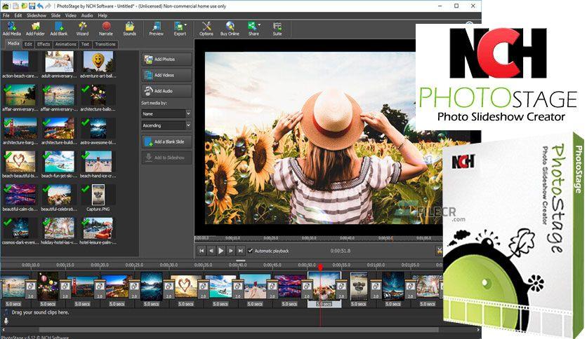 NCH PhotoStage Slideshow Producer Professional 7.14 Beta