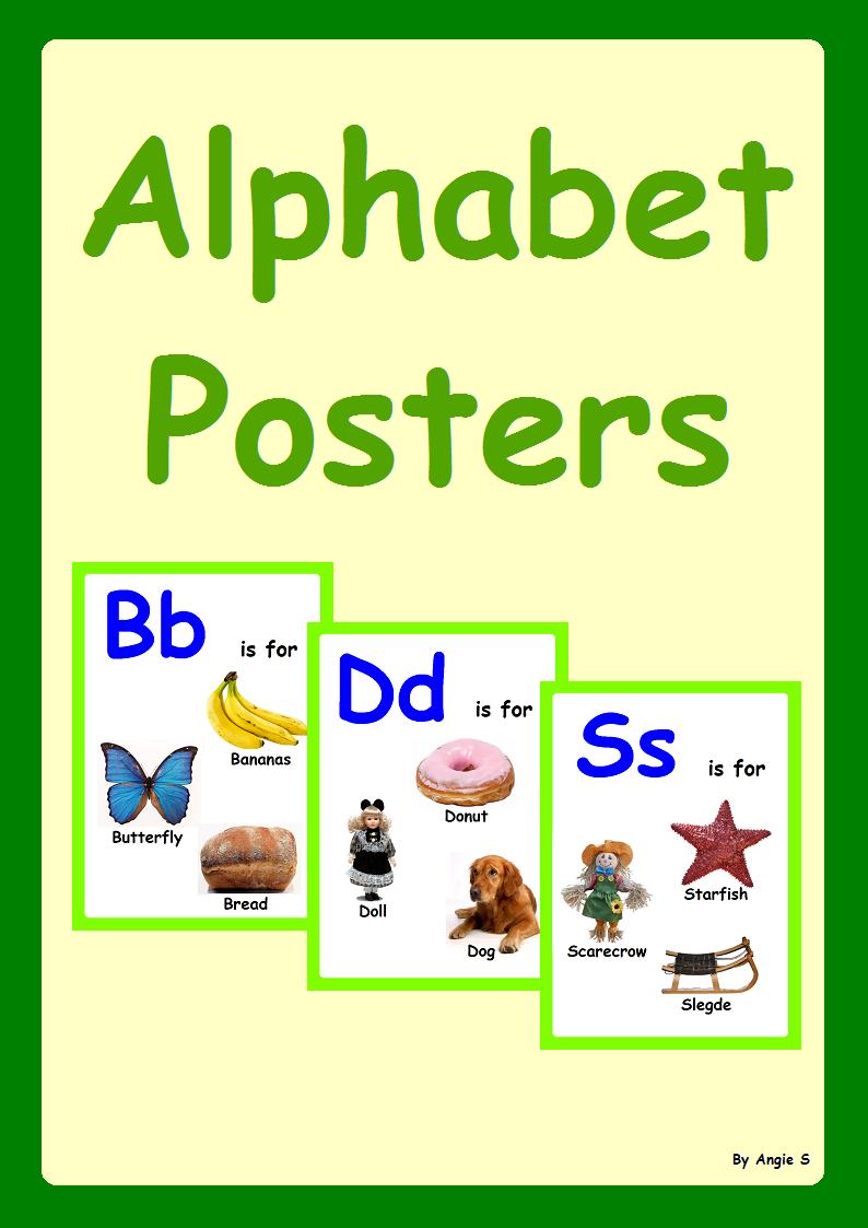 Alphabet Classroom Decor   Classroom decor, Special education and Autism