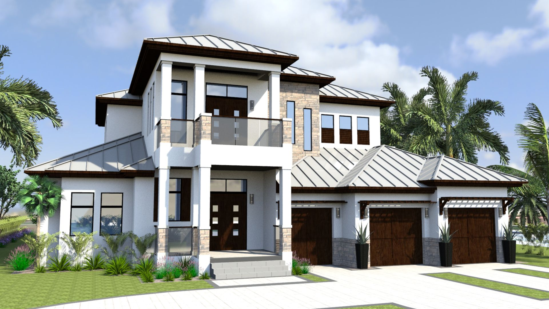 Florida west indies home plans pictures.
