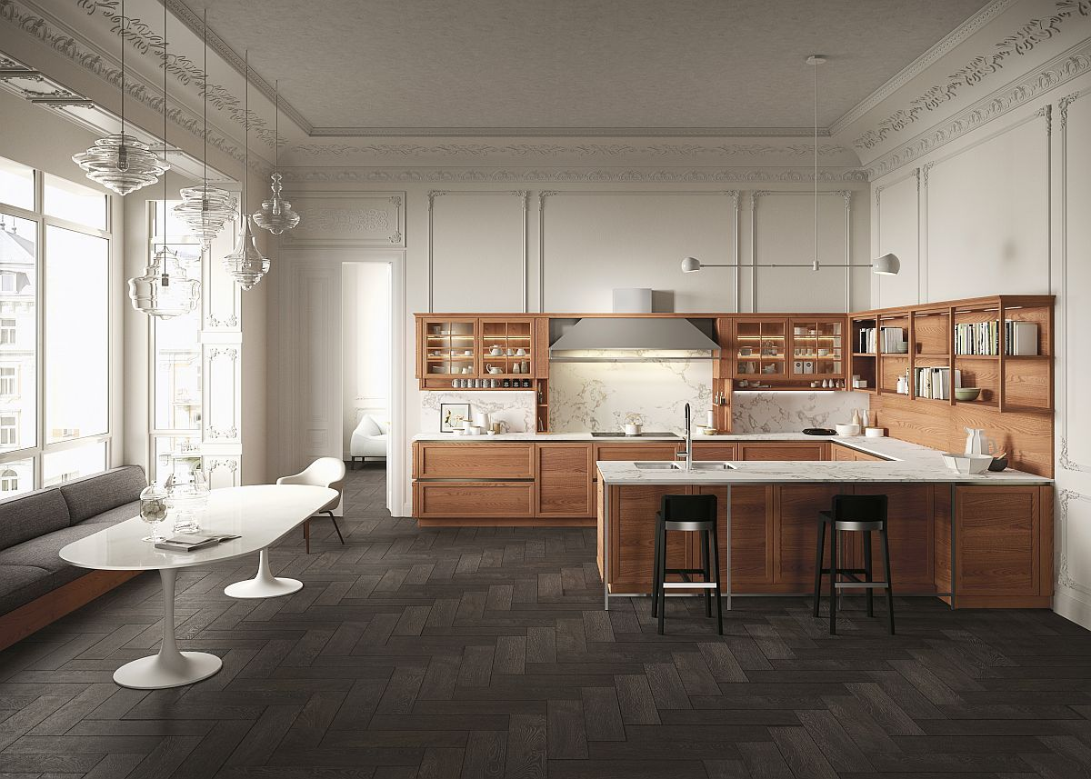 Superb Heritage Kitchen Designed By Iosa Ghini 70 Years Of Snaidero: A Global Icon  Of Italian Kitchen Design