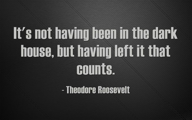 We find courage when we choose to that which no longer serves us.  #TheodoreRoosevelt #courage