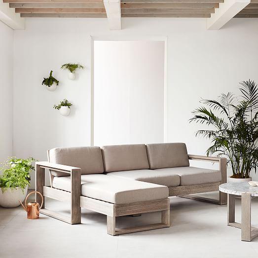 Furniture Discount Sites: West Elm Portside Left Arm Sofa