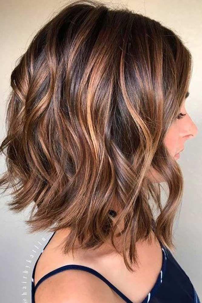 Medium Length Low Maintenance Layered Haircuts For Thick Hair 9