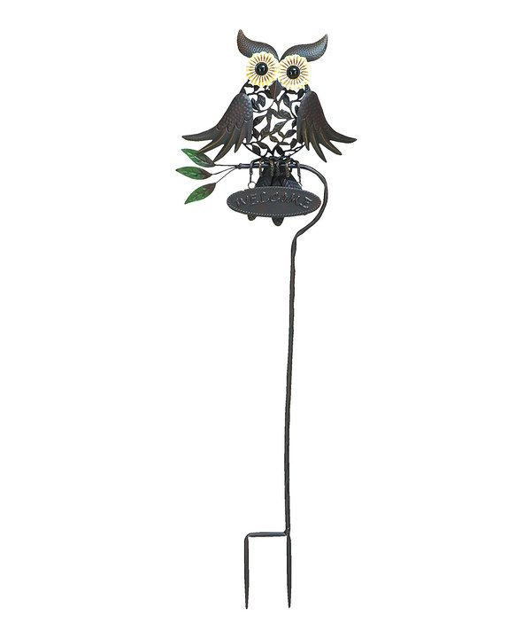 Look At This Metal Owl Garden Stake On #zulily Today!
