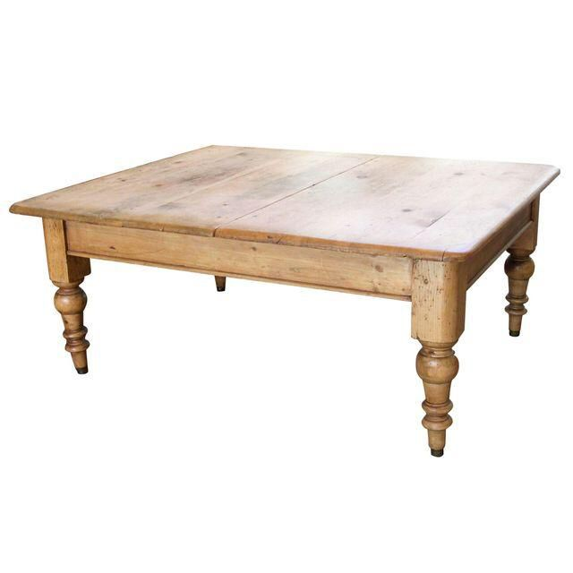 Antique Pine Farmhouse Coffee Table On Chairish Com Coffee Table