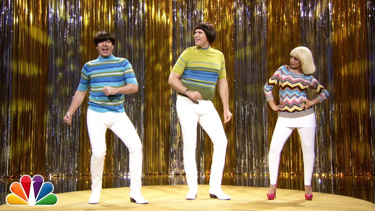 """""""Tight Pants"""" with Jimmy Fallon, Will Ferrell & Christina"""