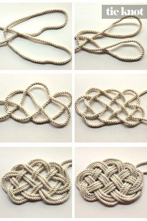 Diy Nautical Rope Necklace Can We Use This To Make A Rug