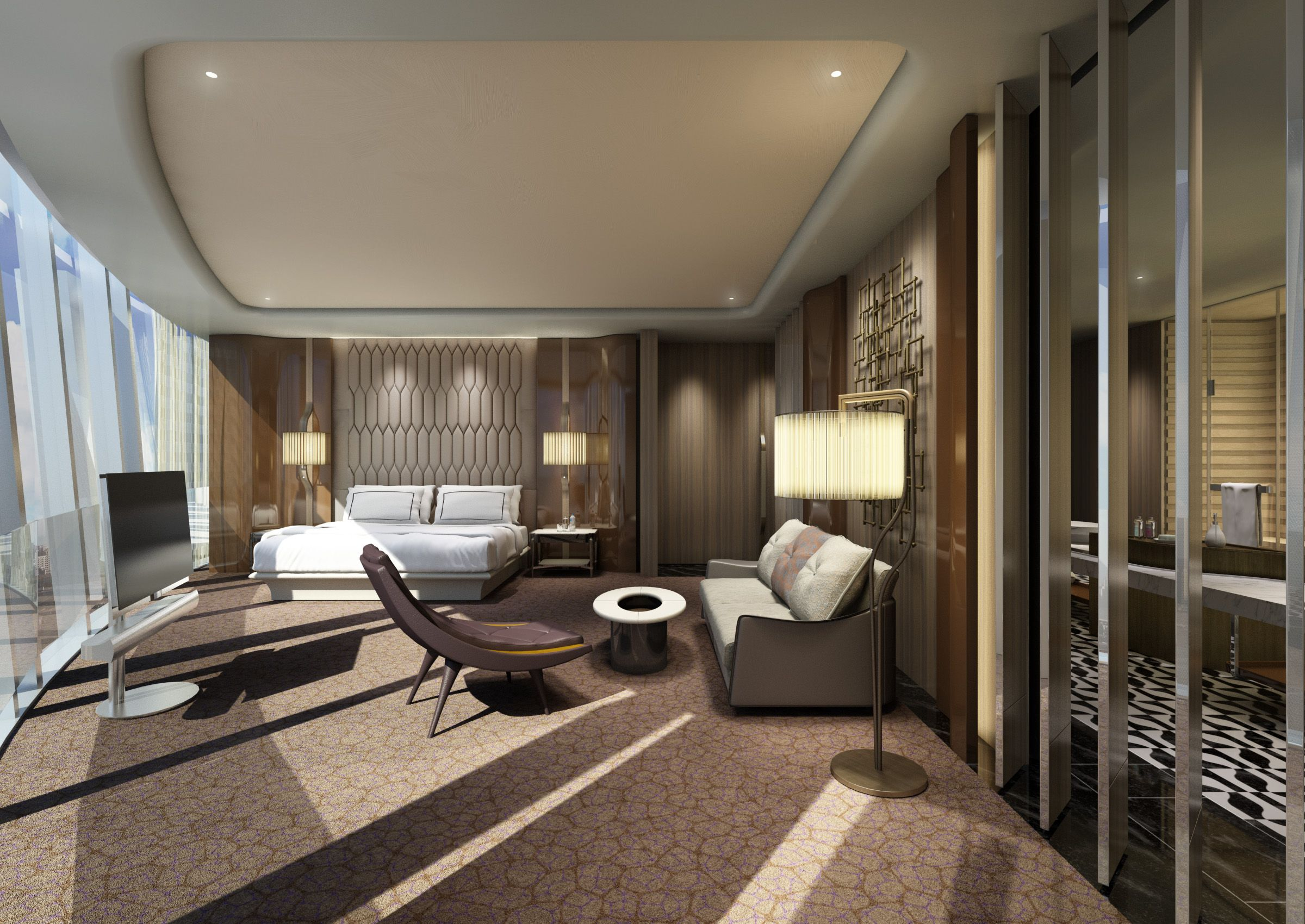 Conrad Hotel Hangzhou Ab Concept Interior Room Home Decor